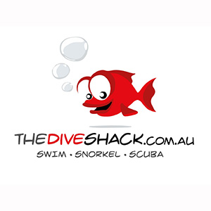 The Dive Shack Logo