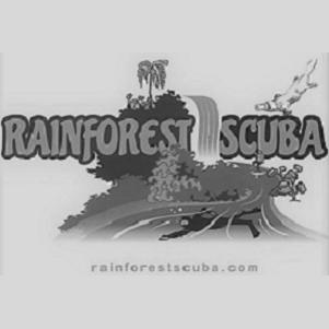 Rainforest Scuba Logo