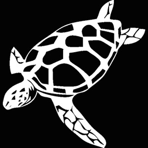 Ocean Turtle Diving Logo