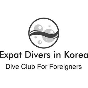 Expat Divers in Korea Logo