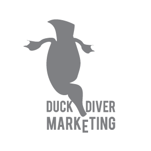 Duck Diver Marketing Logo