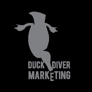 Duck Diver Marketing Logo