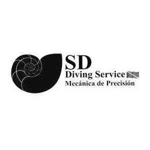 SD Diving Service Logo
