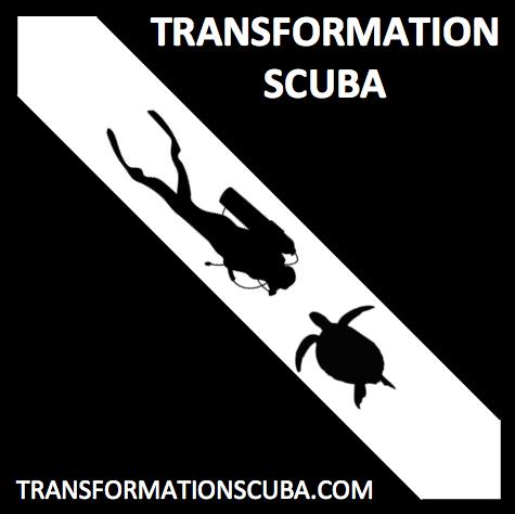 Transformation Scuba Logo