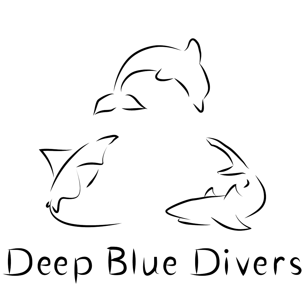 Deep Blue Divers at Six Senses Laamu Logo